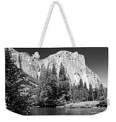 Weekender Tote Bag featuring the photograph Morning At El Capitan by Sandra Bronstein
