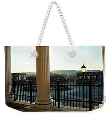 Morning At Gilmer County Courthouse Weekender Tote Bag