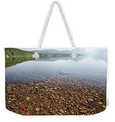 Morning At Lake Mcdonald Weekender Tote Bag