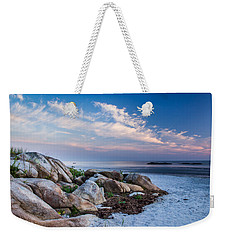 Morning At The Beach Weekender Tote Bag by Tim Kirchoff