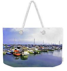 Morning At The Marina 2 Weekender Tote Bag