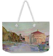 Morning Avalon Harbor - Catalina Island Weekender Tote Bag