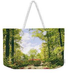 Morning Azaleas Weekender Tote Bag by Jessica Jenney