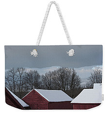 Morning Barnscape Weekender Tote Bag