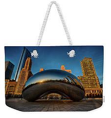 Morning Bean Weekender Tote Bag by Sebastian Musial