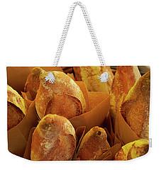 Morning Bread Weekender Tote Bag