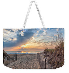 Morning Breaks Weekender Tote Bag by David Cote