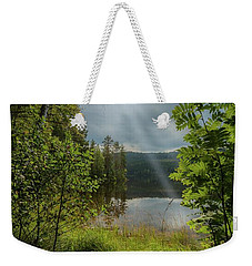Morning Breath Weekender Tote Bag