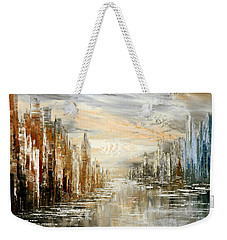 Morning By The Sea Weekender Tote Bag