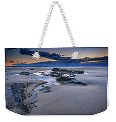 Weekender Tote Bag featuring the photograph Morning Calm On Wells Beach by Rick Berk