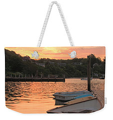 Morning Calm Weekender Tote Bag by Roupen  Baker