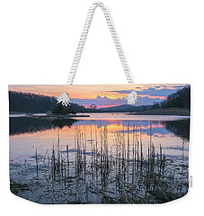 Morning Calmness Weekender Tote Bag by Angelo Marcialis