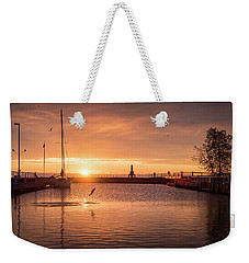 Morning Catch Weekender Tote Bag by James Meyer