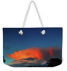 Morning Clouds Weekender Tote Bag by Mark Blauhoefer
