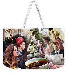 Morning Coffee With Eggs Over Easy Weekender Tote Bag