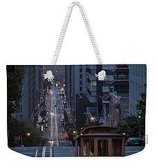 Morning Commute Weekender Tote Bag by JR Photography