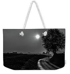 Morning Dew Bw Weekender Tote Bag