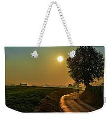 Morning Dew In Color Weekender Tote Bag