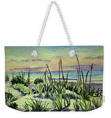 Morning Dunes  7-7-2017 Weekender Tote Bag