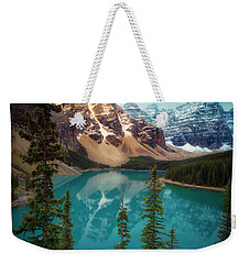 Morning Eruption  Weekender Tote Bag