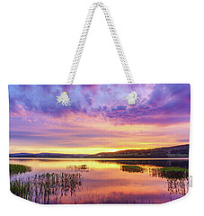 Morning Fire Weekender Tote Bag