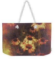 Morning Fire - Fierce Flower Beauty Weekender Tote Bag
