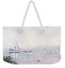 Morning Fog  Weekender Tote Bag by Melly Terpening