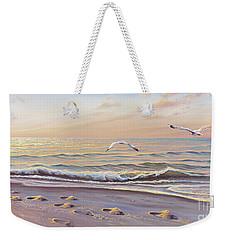 Morning Glisten Weekender Tote Bag