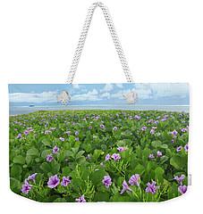 Morning Glories Weekender Tote Bag