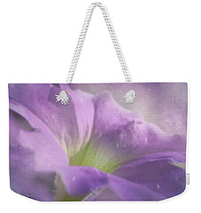 Morning Glory Weekender Tote Bag by Ann Lauwers