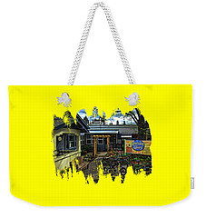 Weekender Tote Bag featuring the photograph Morning Glory Cafe Ashland by Thom Zehrfeld
