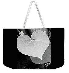 Morning Glory Heart Weekender Tote Bag