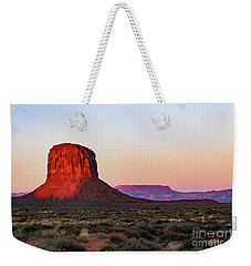 Morning Glory In Monument Valley Weekender Tote Bag