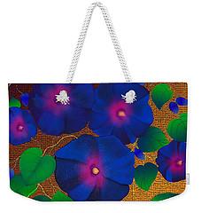 Morning Glory Weekender Tote Bag by Latha Gokuldas Panicker