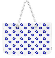 Morning Glory Pattern Weekender Tote Bag