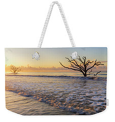 Morning Glow At Botany Bay Beach Weekender Tote Bag