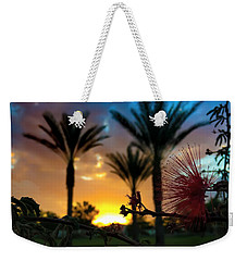 Weekender Tote Bag featuring the photograph Morning Glow by Chris Tarpening