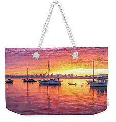 Morning Glow Weekender Tote Bag