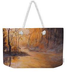 Morning Gold Weekender Tote Bag