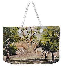 Morning Graze Weekender Tote Bag