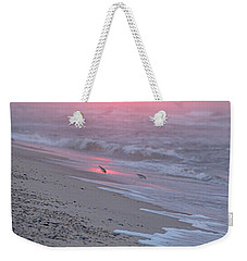 Weekender Tote Bag featuring the photograph Morning Haze by  Newwwman
