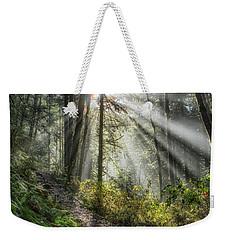 Morning Hike Weekender Tote Bag