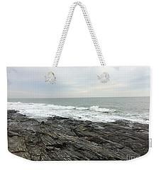 Morning Horizon On The Atlantic Ocean Weekender Tote Bag