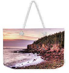 Morning In Acadia Weekender Tote Bag
