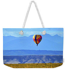 Morning In Montana Weekender Tote Bag