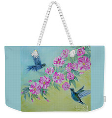 Morning In My Garden. Special Collection For Your Home Weekender Tote Bag