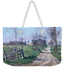 Morning In The Farm Georgetown Weekender Tote Bag