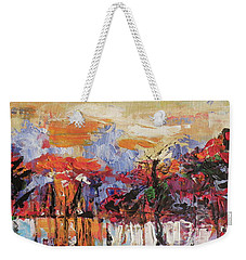 Morning In The Garden Weekender Tote Bag