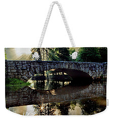 Morning Light Along The Merced River Weekender Tote Bag