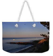 Morning Light At Grey Neck Beach Weekender Tote Bag